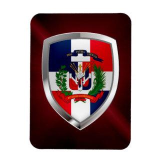 Ímã Emblema de Mettalic da República Dominicana