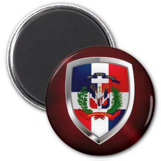 Imã Emblema de Mettalic da República Dominicana