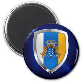 Imã Emblema de Mettalic das Ilhas Canárias