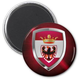 Imã Emblema de Trento Mettalic