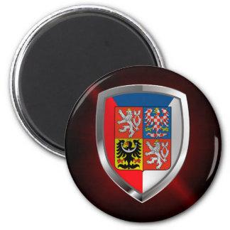 Imã Emblema metálico da república checa