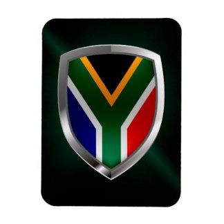 Ímã Emblema metálico de África do Sul