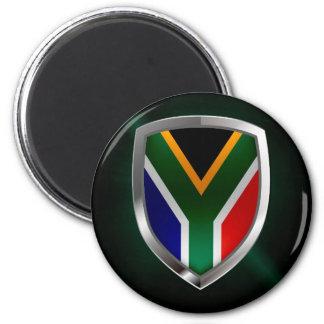 Imã Emblema metálico de África do Sul