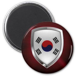 Imã Emblema metálico de Coreia do Sul