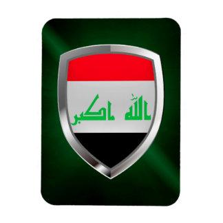 Ímã Emblema metálico de Iraque