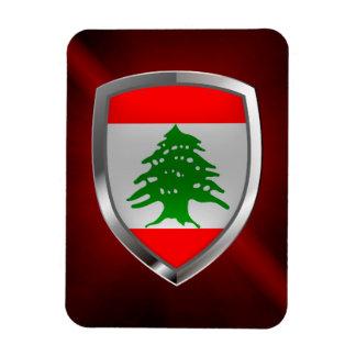 Ímã Emblema metálico de Líbano