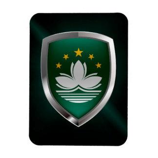 Ímã Emblema metálico de Macau