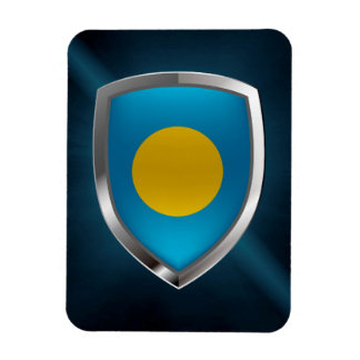 Ímã Emblema metálico de Palau