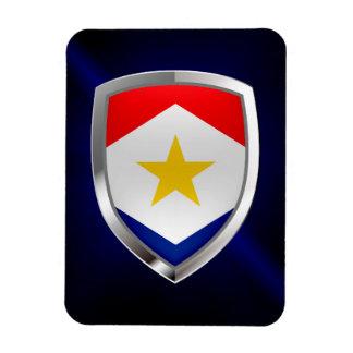 Ímã Emblema metálico de Saba