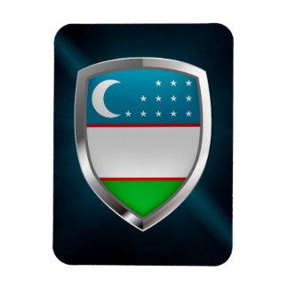 Ímã Emblema metálico de Uzbekistan