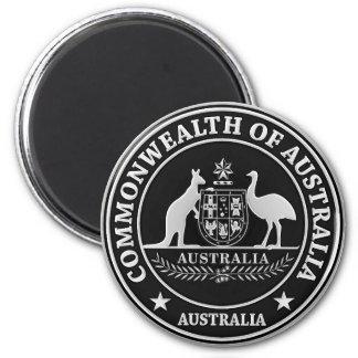 Imã Emblema redondo de Austrália