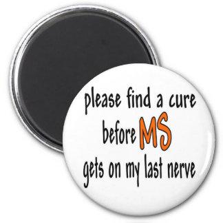 Imã Encontre por favor uma cura antes do MS obtem em