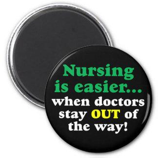 Imã Enfermeira - apenas estada afastada