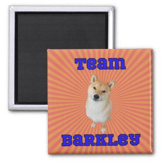 Imã Equipe Barkley - ímã quadrado de 2 polegadas