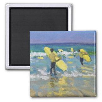 Imã Escola do surf em St Ives
