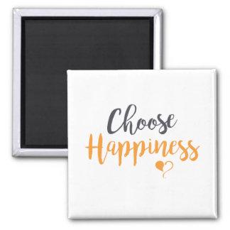 Imã Escolha o ímã da felicidade