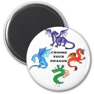 Imã Escolha seu dragão