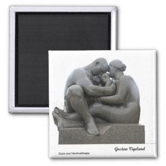 Imã Escultura de Gustav Vigeland - Oslo, Noruega - ímã