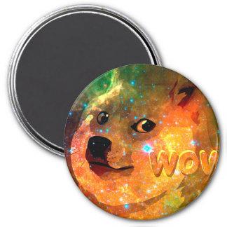 Imã espaço - doge - shibe - uau doge