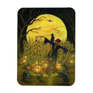 Ímã Espantalho do Dia das Bruxas, Jack-O-Lanternas,