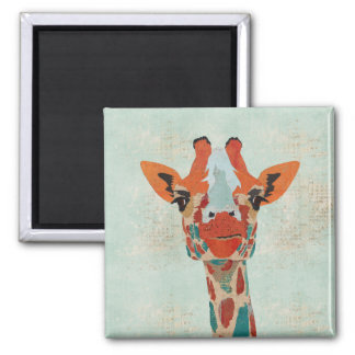 Ímã espreitando ambarino do girafa ima de geladeira