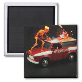 Imã Esqueleto do carro de bombeiros