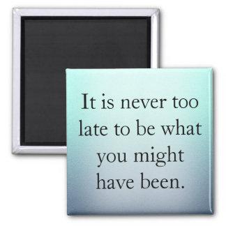 Imã Está nunca demasiado atrasado