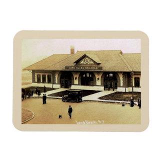 Ímã Estação de caminhos-de-ferro, Long Beach, Long