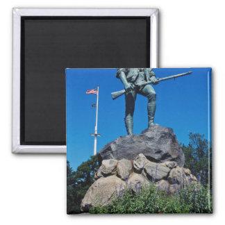 Imã Estátua branca do Minuteman, Lexington,