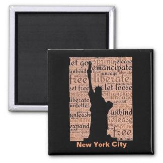 Imã Estátua da liberdade da Nova Iorque