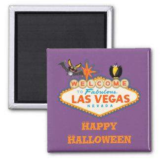 Imã Estilo feliz do Dia das Bruxas Las Vegas