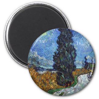 Imã Estrada secundária de Vincent van Gogh em Provence