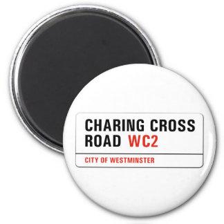 Imã Estrada transversal de Charing, sinal de rua de