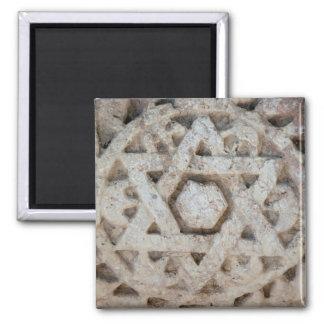 Imã Estrela de David velha que cinzela, Israel