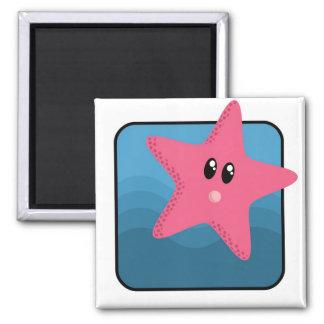 Imã Estrela do mar dos desenhos animados