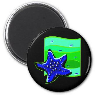 Imã Estrela do mar espinhoso azul