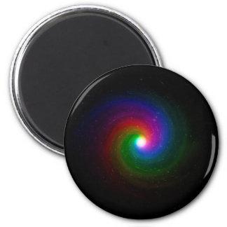 Imã Estrelas coloridas que rodam para um centro