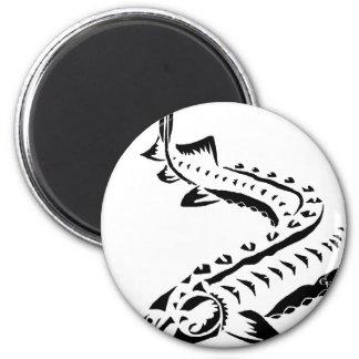 Imã Esturjão tribal - beluga de Huso