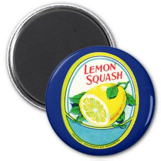 Imã Etiqueta da polpa do limão do vintage