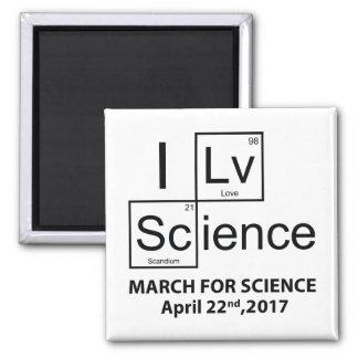 Imã Eu amo a ciência