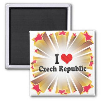 Imã Eu amo a república checa