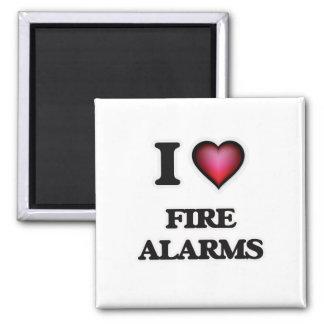 Imã Eu amo alarmes de incêndio