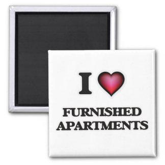 Imã Eu amo apartamentos fornecidos