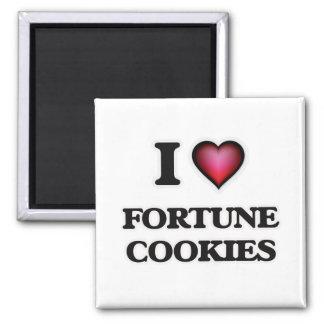 Imã Eu amo biscoitos de fortuna