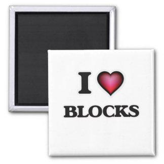 Imã Eu amo blocos
