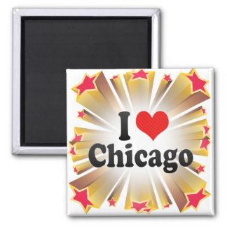 Imã Eu amo Chicago