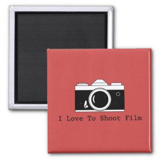 Imã Eu amo disparar no filme