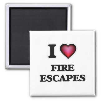 Imã Eu amo escapes de fogo