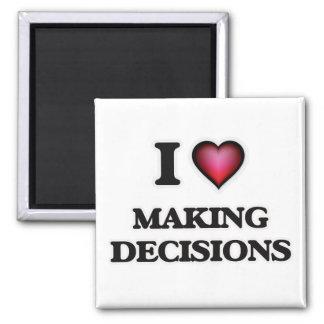 Imã Eu amo fazer decisões