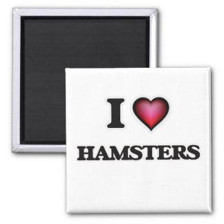 Imã Eu amo hamster